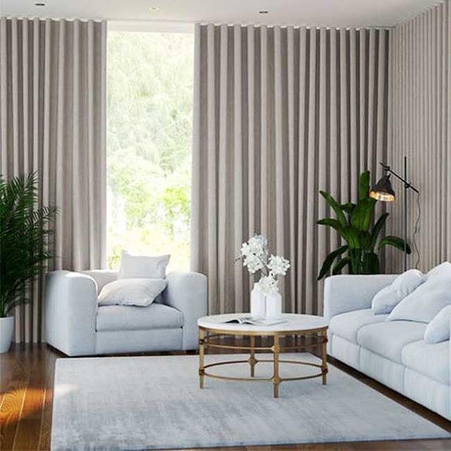 Màn vải cản sáng giá rẻ đẹp cho phòng khách tại Phan Rang