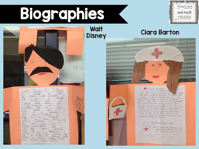 Biography report and craft