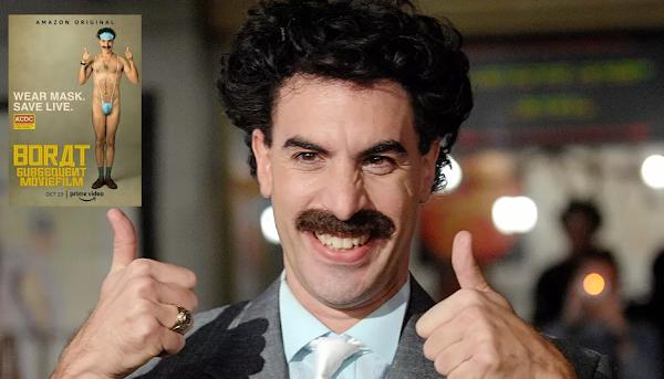 Borat dénudé avec une bague au nom d'Allah: l'affiche du film crée un malaise