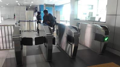 cara mengetap tiket MRT jakarta