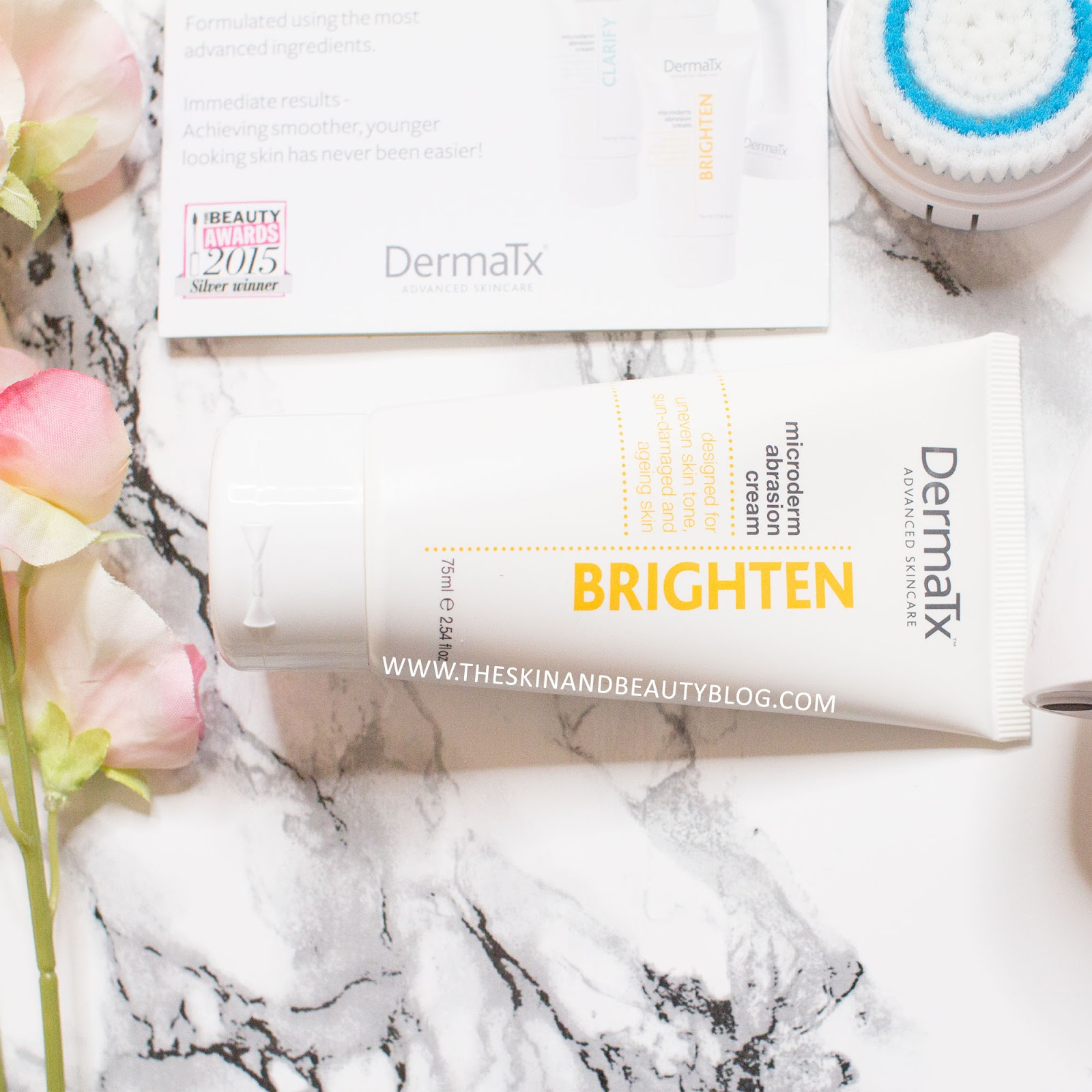 DermaTx Microdermabrasion Brighten Cream Review