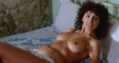 Marina Sirtis in a scene from the 1984 movie BLIND DATE