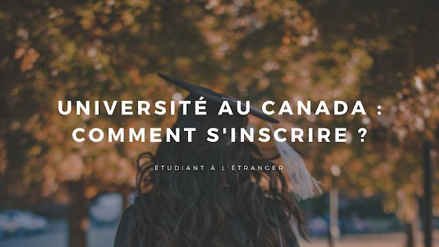 universite canada inscription