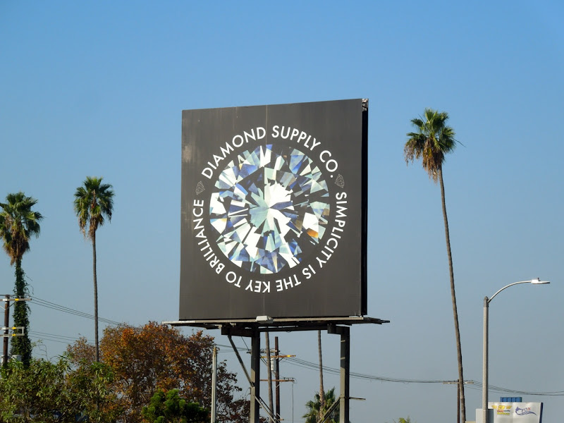 Diamond Supply Simplicity brilliance billboard