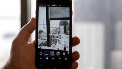 Facebook's camera app