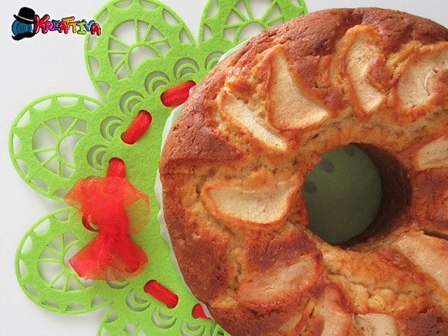 Torta di mele - Ciambellone della nonna
