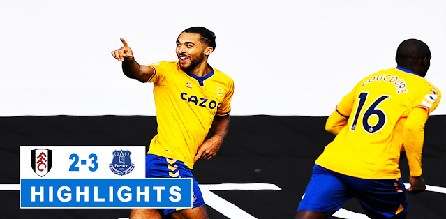 Fulham vs Everton – Highlights