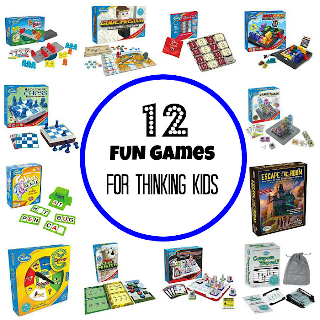 A gift guide for kids: fun games for thinking kids