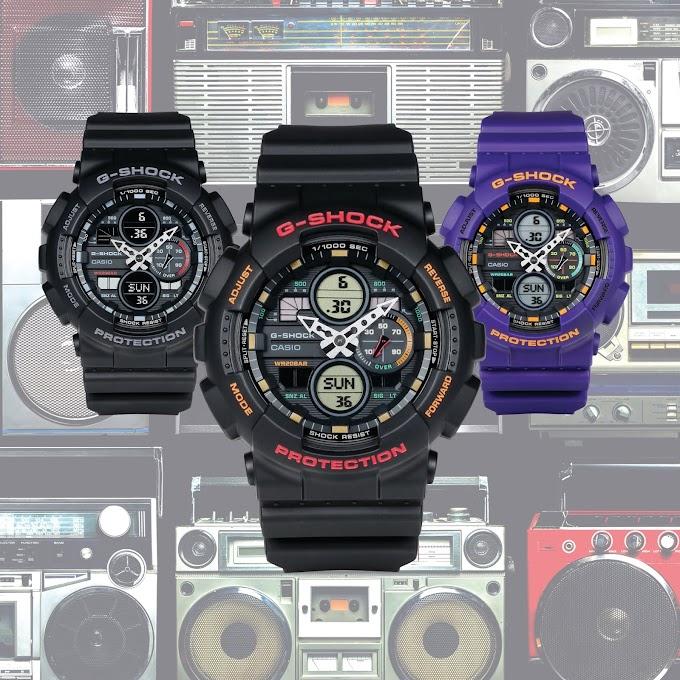 Casio G-Shock GA-140 Series New!