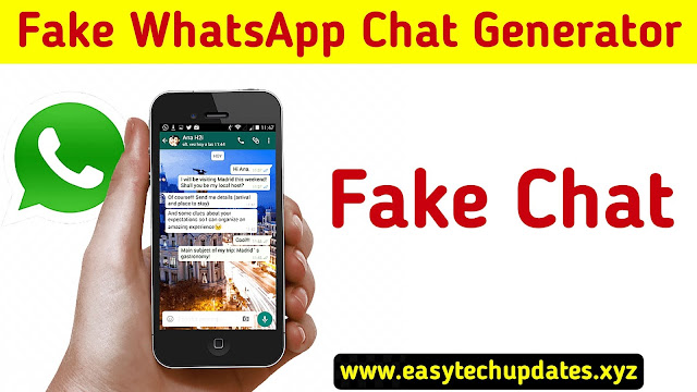 Fake WhatsApp Chat Generator Android