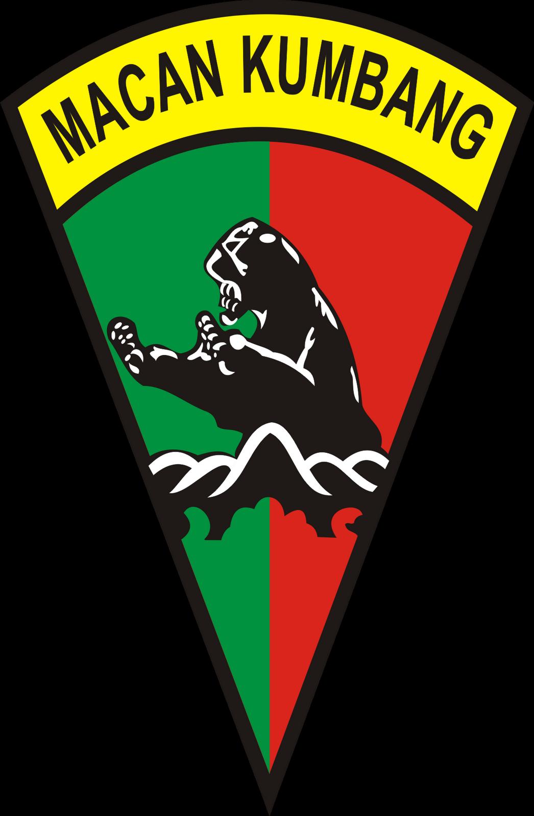 Logo Batalyon Infantri Yonif 121 Macan Kumbang Deli Serdang