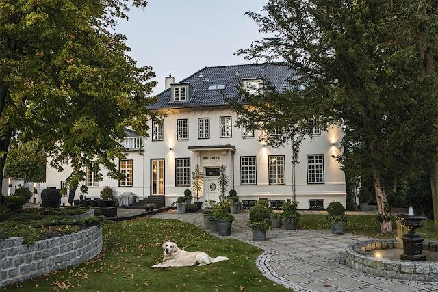 Villa Bel Colle Rungsted {Copenhagen Denmark}