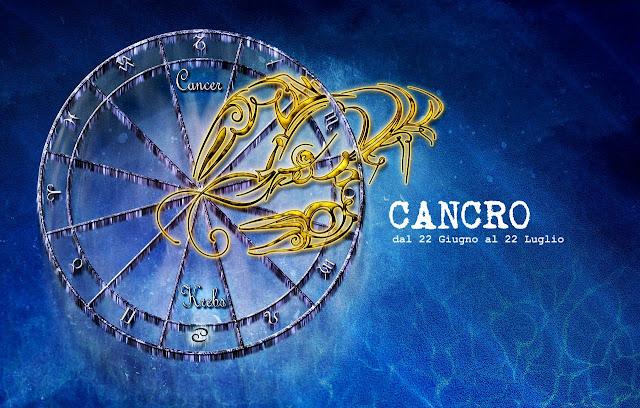 Cancro va dal 22 Giugno al 22 Luglio