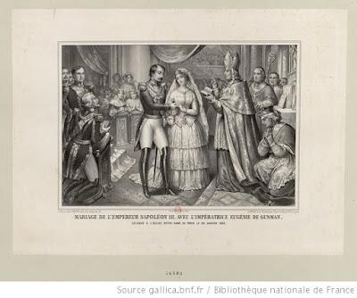 mariage napoléon III eugénie de Montijo BnF