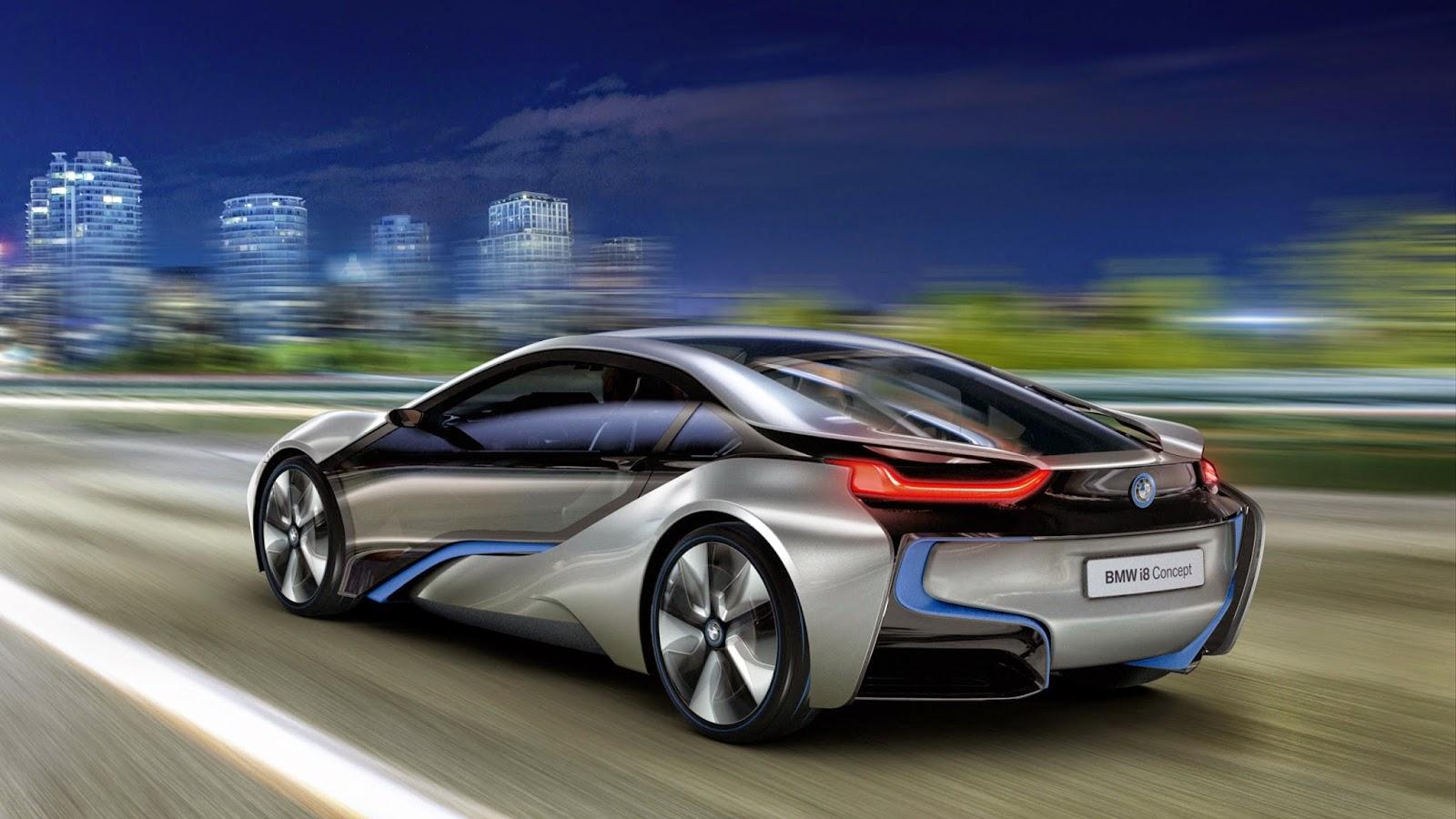 Wallpaper Mobil BMW I8 Concept Terbaru