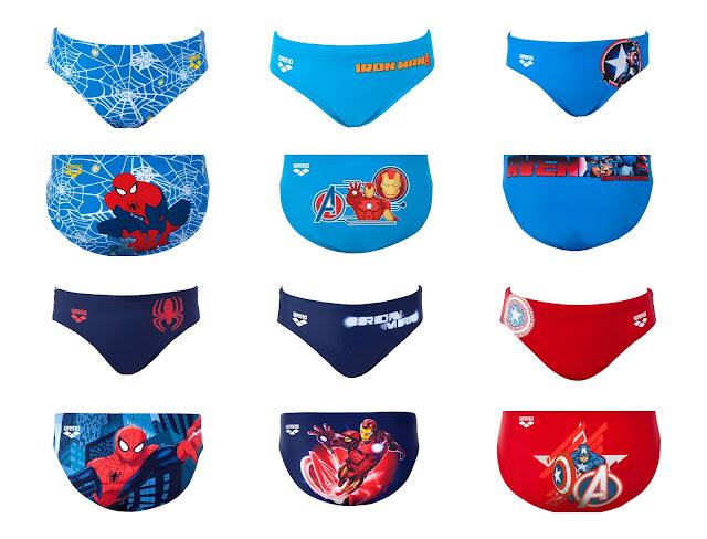 Nuova collezione costumi Arena con i Super eroi per bambini