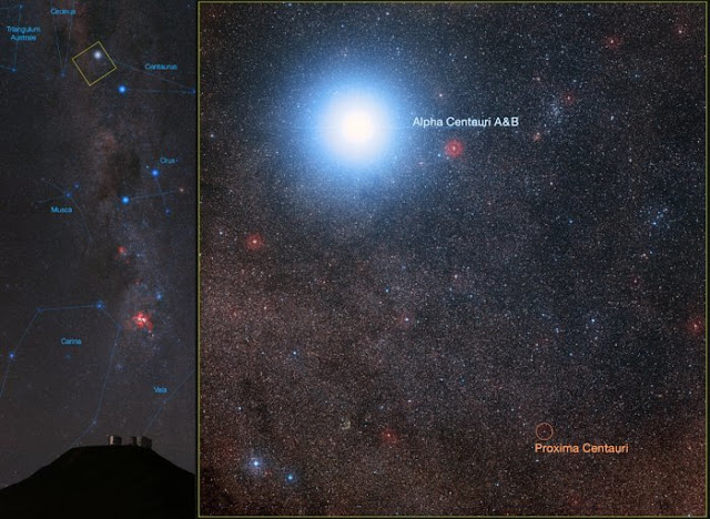 Credit: ESO/B. Tafreshi (twanight.org)/Digitized Sky Survey 2 Acknowledgement: Davide De Martin/Mahdi Zamani