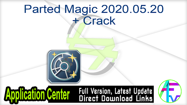 Parted Magic 2020.05.20 + Crack