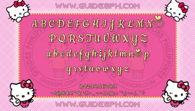 Mobile Font: Cookiefied Font TTF, ITZ, and APK Format