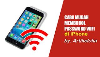 Cara Mengetahui Password WiFi dengan iPhone