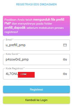 Cara Mudah Download Prefill Pmp 2019 Menggunakan Generate Prefill Nasional  - Edukasinfo.Net