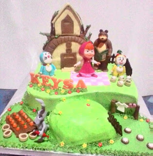 Cake masha n the bear