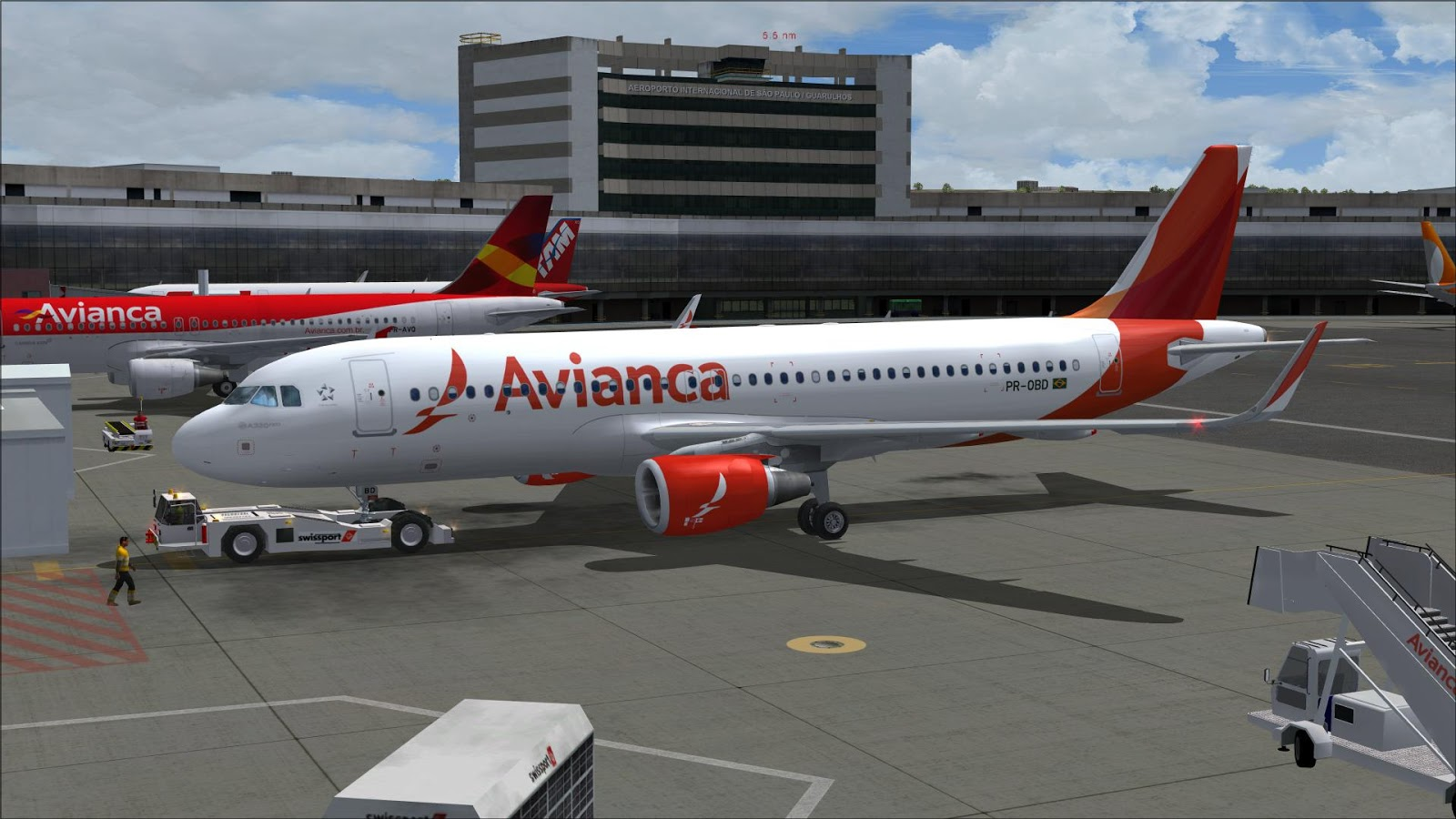 FSRepainter: PROJECT AIRBUS A320-200Neo AVIANCA Brazil PR-OBD