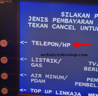 Pilih Telepon/HP