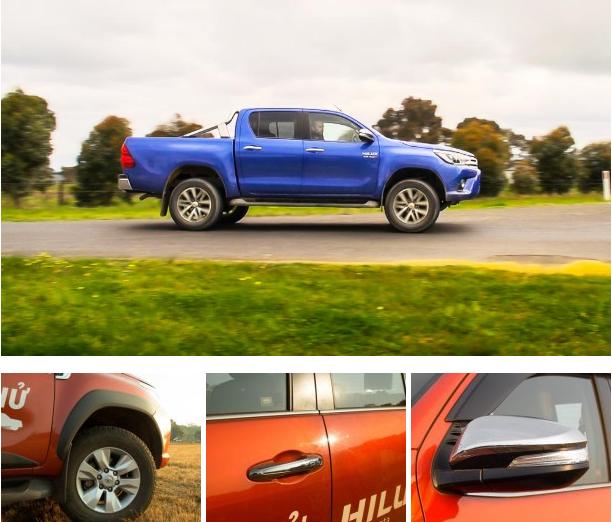 xe Toyota Hilux 2016 phần thân cứng cáp