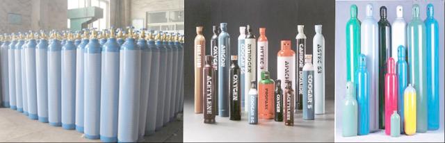 bình chứa khí (chai chứa khí - cylinder) rỗng