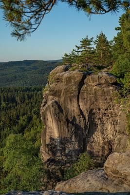 Malerweg Etappe 7 | Von Kurort Gohrisch bis Weißig | Wandern Sächsische Schweiz | Pfaffenstein – Festung Königstein 06