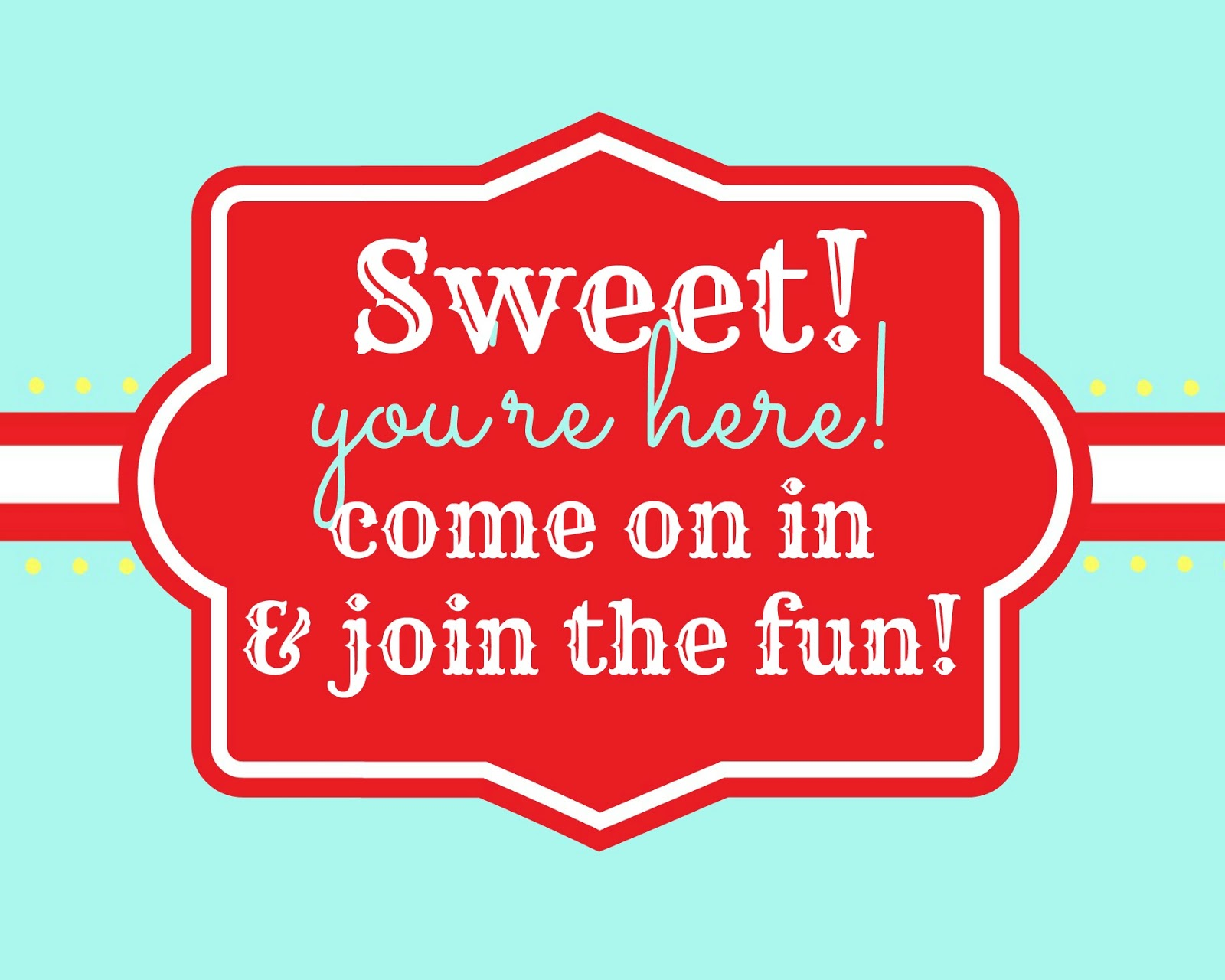 Tattered And Inked Candy Shoppe Birthday Party Free