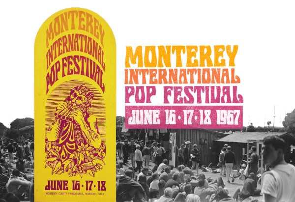 Monterey Pop Festival 1967: Το πρώτο μεγάλο υπαίθριο φεστιβάλ στην ιστορία της ροκ μουσικής.