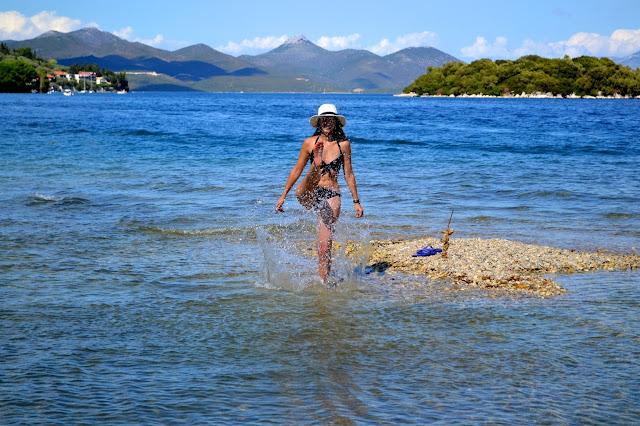 Nydri, isla de Lefkada, Grecia
