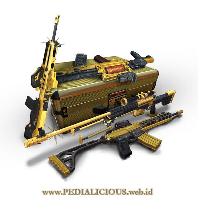 Harga & Statistik Seri Gold Senjata Point Blank