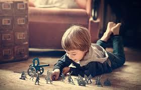 Children Play Alone