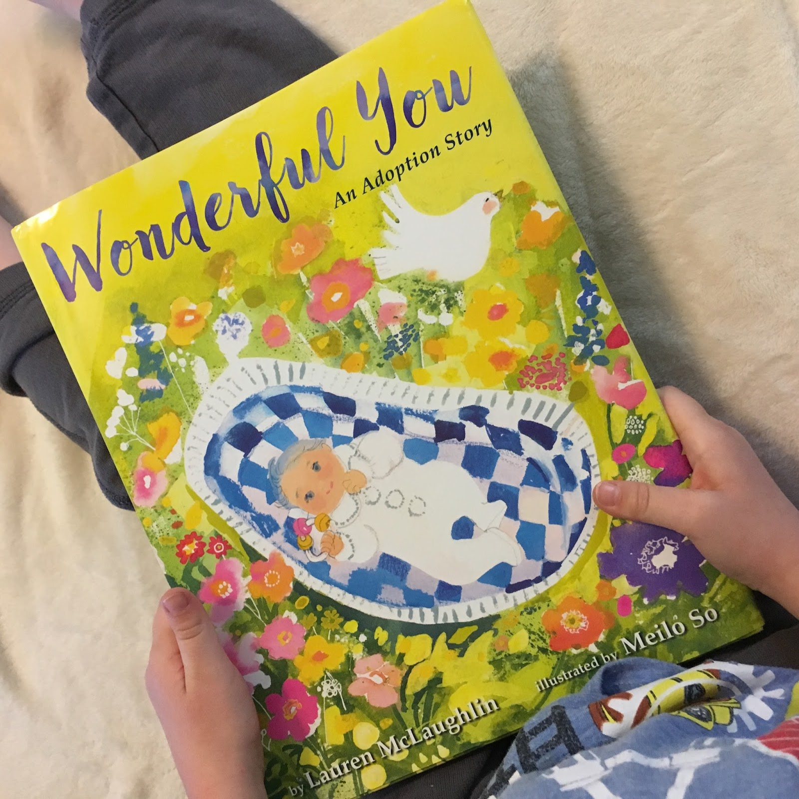Let's Talk About This Wonderful Book Called, Wonderful You By Lauren  Mclaughlin This Book Is Own Voices, As The Author, Lauren Mclaughlin, As  An Adoptive