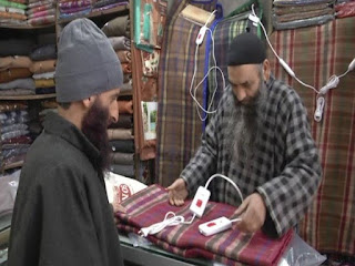 Demand for electric blankets rises as temperature dips in Kashmir Valley