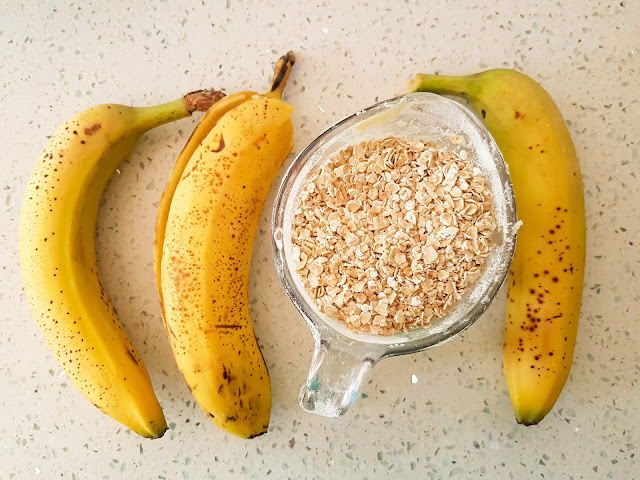 Banana Oatmeal Cookie recipe by Plaid and Sugar