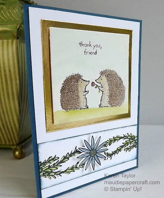 Stampin' Up! Love You Lots card