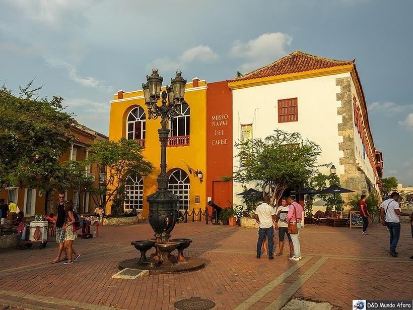 Museu Naval do Caribe - O que fazer em Cartagena, Colômbia