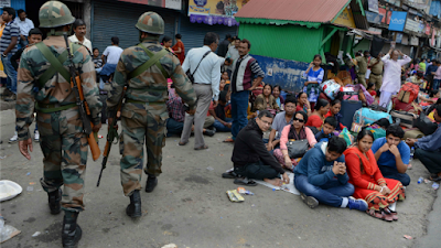 Darjeeling unrest due to indefinite strike and Gorkhaland agitation