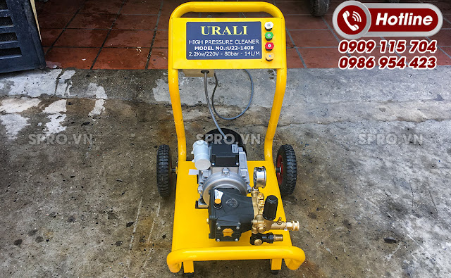 Máy rửa xe Urali U22 đạt chuẩn châu Âu