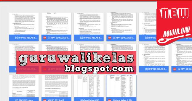 Download Perangkat Pembelajaran Sd Rpp Silabus Kurikulum