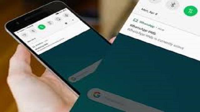 Cara Menyembunyikan WhatsApp Web di HP Korban