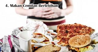 Hindari Kebiasaan Makan Cemilan Berlebihan Selama Pandemi Covid 19