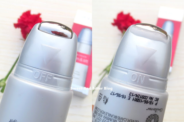 Ponds Age Miracle Firm & Lift Targeted Lifting Serum Massager Metal Roll Texture