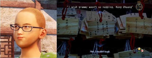"""""""I wish grammy wasn't so nagging."""" - Kong Zhuang"""