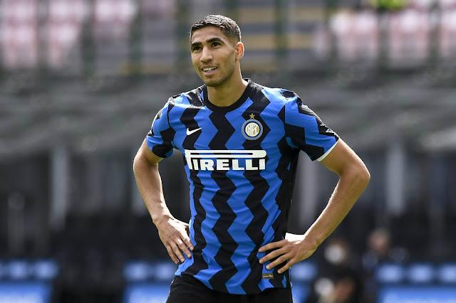 Inter Milan Winger Achraf Hakimi