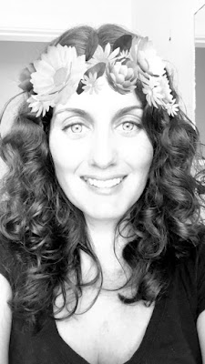 Betty bake, Bernice, Cape Town, Black and White, blogger, food blog, healthy eating, health coach, women, woman, flower crown, smile,